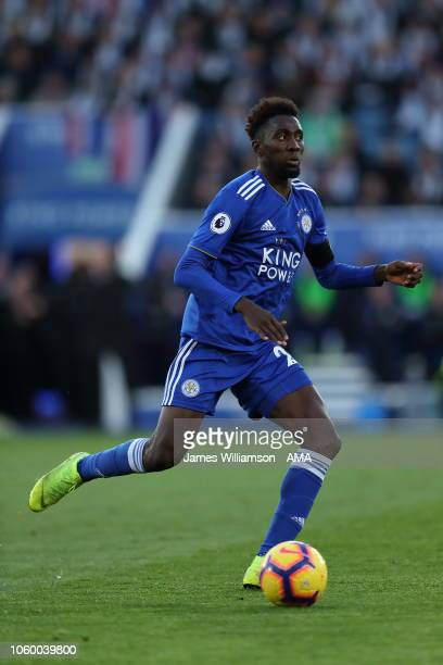Wilfred Ndidi of Leicester City during the Premier League match between Leicester City and Burnley FC at The King Power Stadium on November 10 2018...
