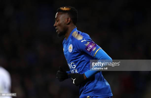 Wilfred Ndidi of Leicester City during the Premier League match between Leicester City and Tottenham Hotspur at The King Power Stadium on November 28...