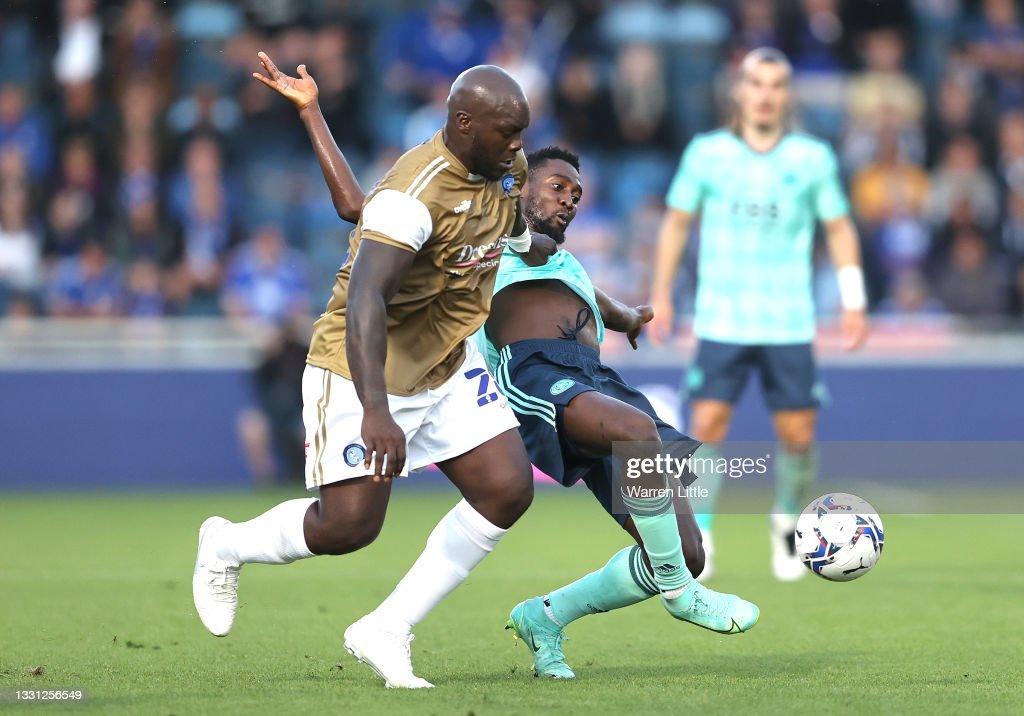 Wycombe Wanderers v Leicester City: Pre-Season Friendly : News Photo