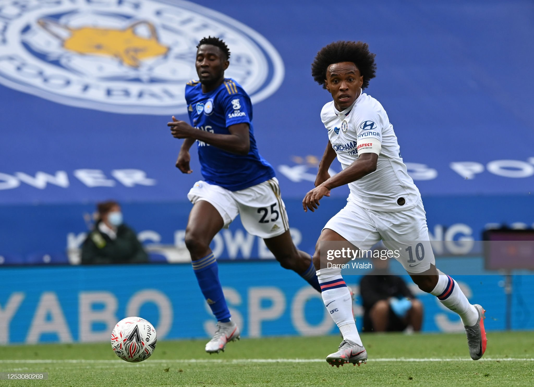 Leicester City v Chelsea FC - FA Cup: Quarter Final : News Photo