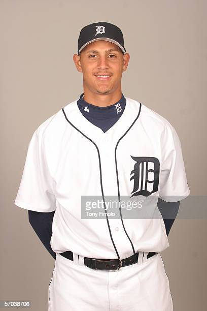 Wilfredo Ledezma of the Detroit Tigers during photo day at Marchant Stadium on February 26 2006 in Lakeland Florida