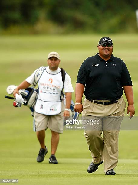 Wilfredo Morales of Puerto Rico walks up the 7th hole during the first round of the Puerto Rico Open presented by Banco Popular held on March 20 2008...