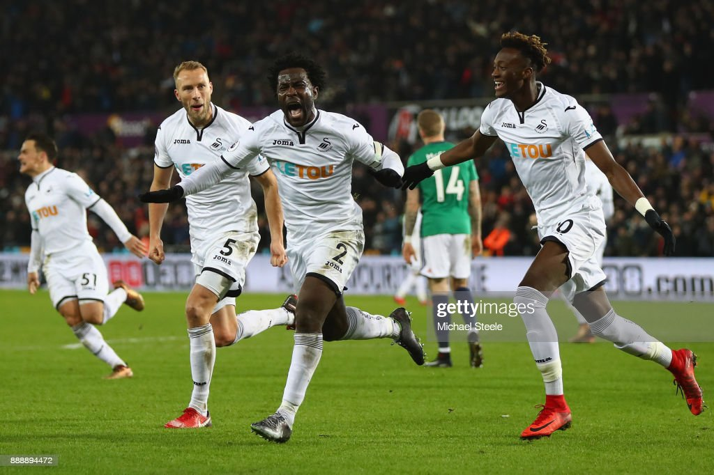 Swansea City v West Bromwich Albion - Premier League : News Photo