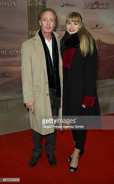 Wilfried Hochholdinger and Alexandra Vogel attend the German premiere of the film 'The Physician' at Zoo Palast on December 16 2013 in Berlin Germany