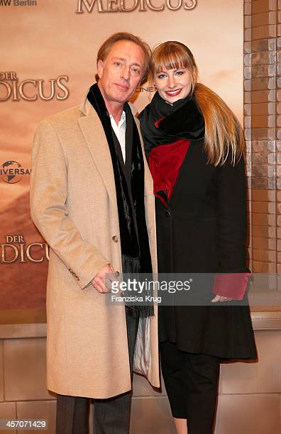 Wilfried Hochholdinger and Alexandra Vogel attend 'The Physician' German Premiere on December 16 2013 in Berlin Germany