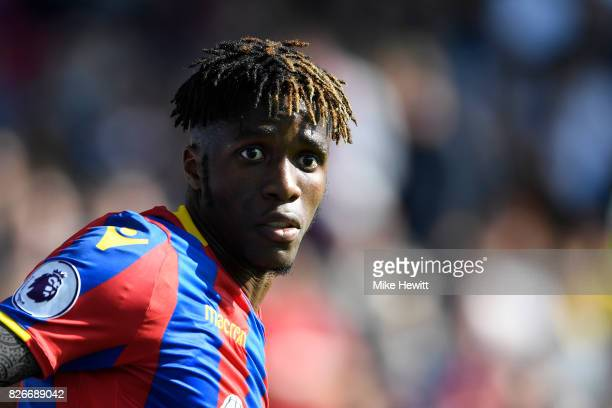 Wilfried Saha of Crystal Palace looks on during a Pre Season Friendly between Crystal Palace and FC Schalke 04 at Selhurst Park on August 5 2017 in...