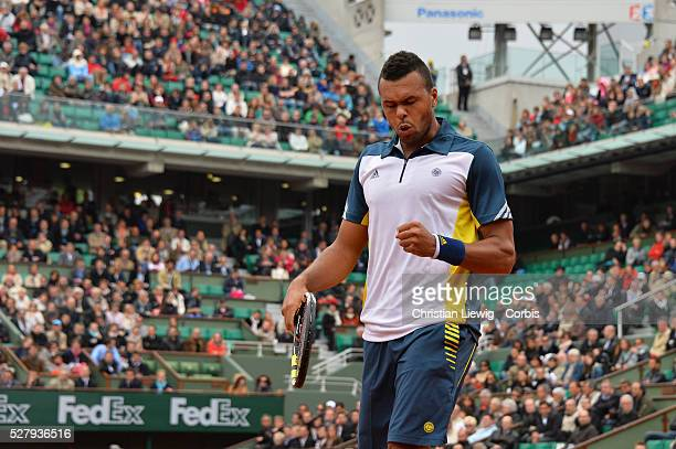 Wilfried Stonga during the first round of the French Tennis Open 2013 at RolandGarros Stadium in Paris France on May 12013 Photo by Corbiscom