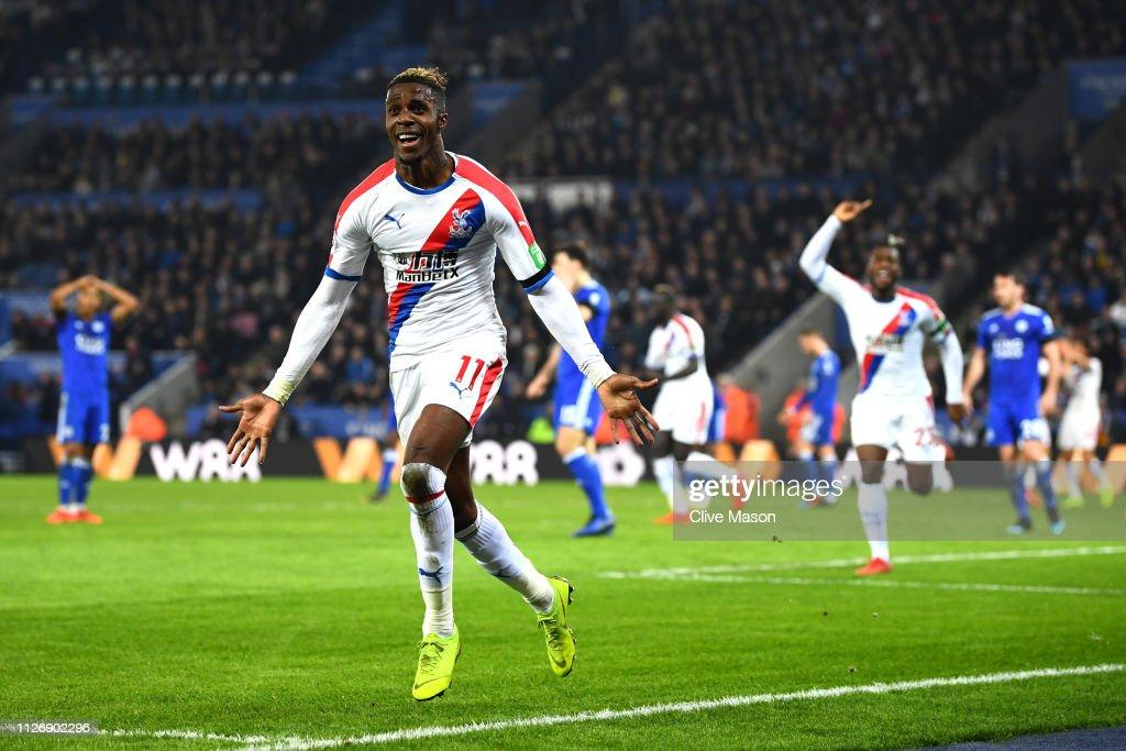 GBR: Leicester City v Crystal Palace - Premier League