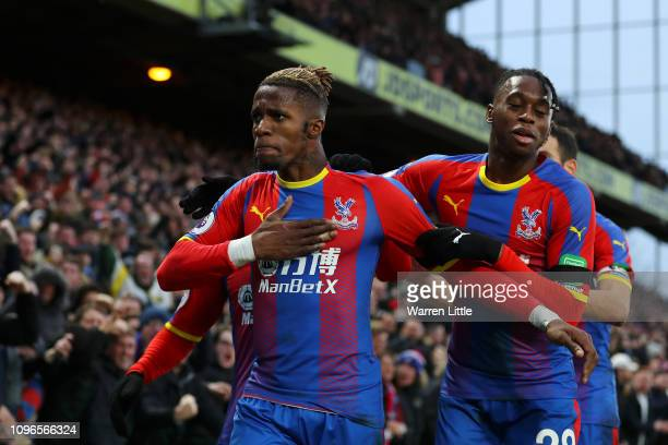 Image result for wilfried zaha getty images