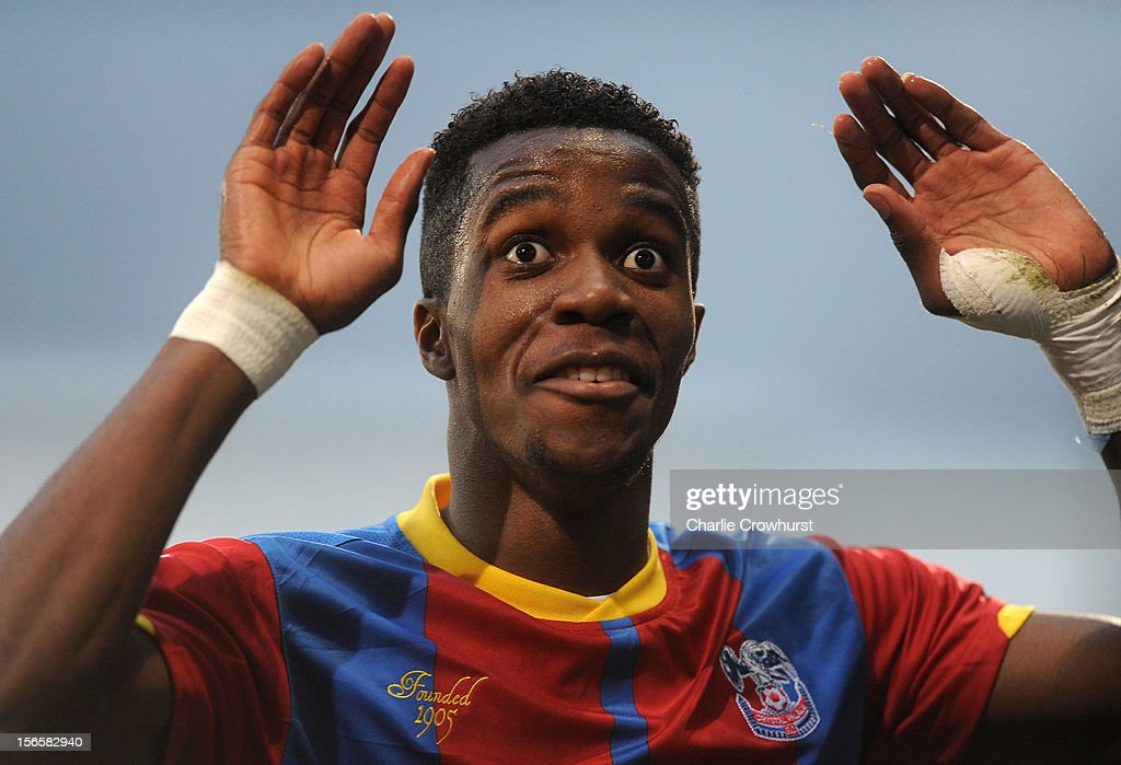 Wilfried Zaha of Crystal Palace during the npower Championship match between Crystal Palace and Derby County at Selhurst Park on November 17, 2012 in London, England.