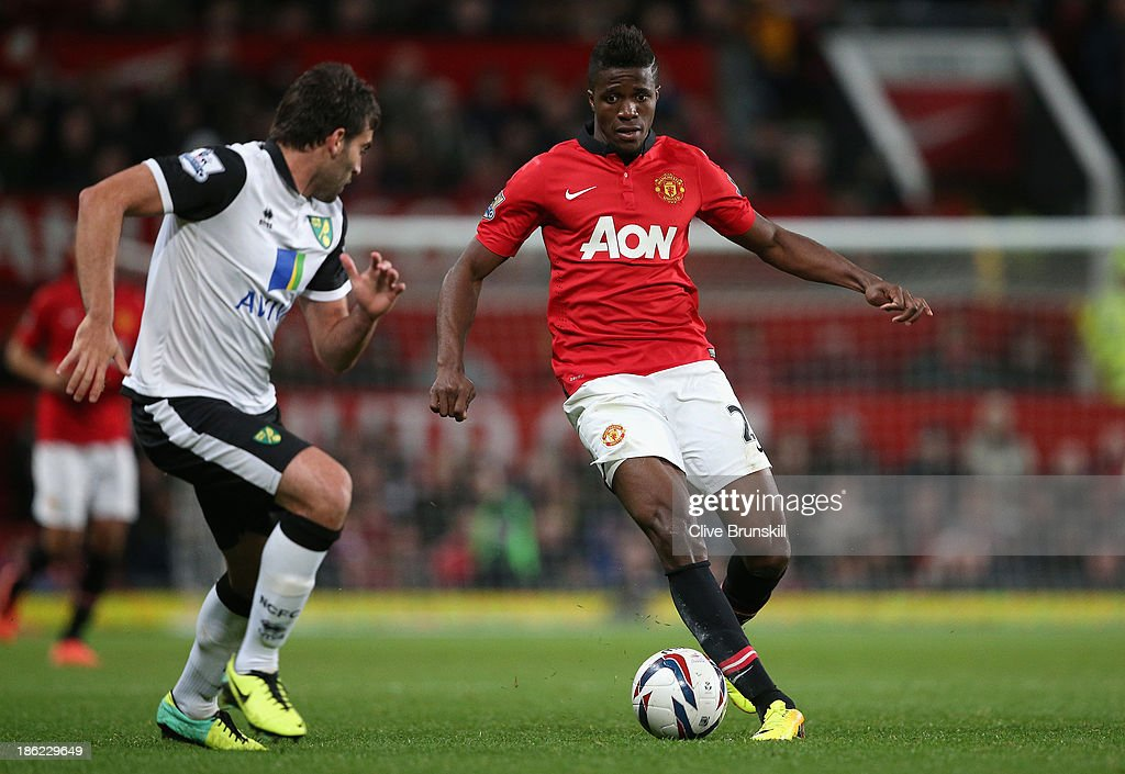 Manchester United v Norwich City - Capital One Cup Fourth Round : News Photo