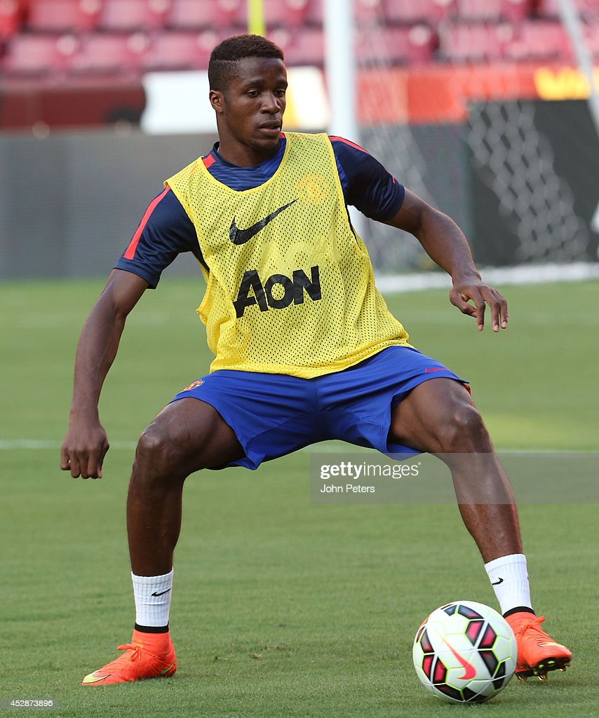Manchester United Open Training Session : News Photo