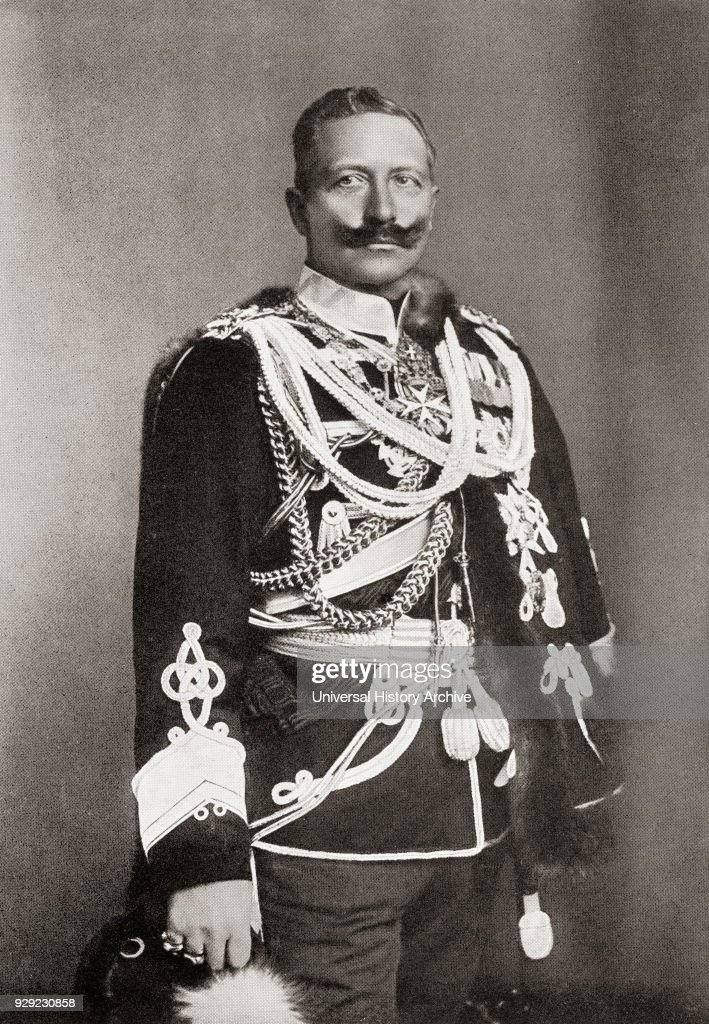 wilhelm ii 1859 to 1941 last german emperor and king of prussia