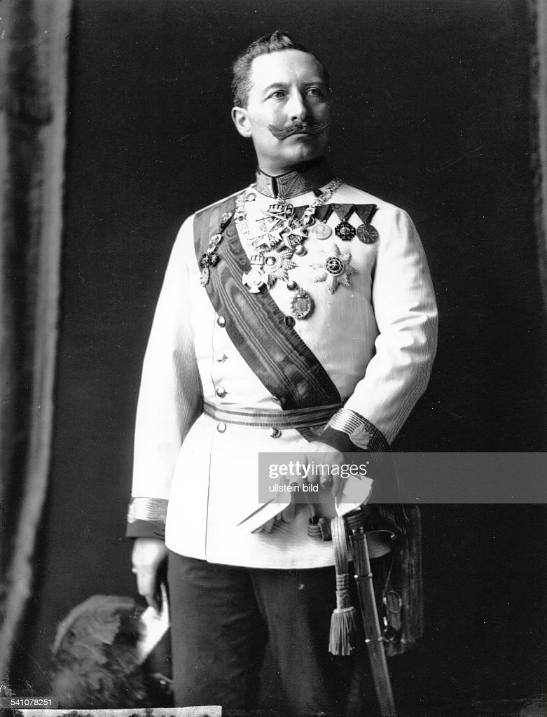 Wilhelm II *27.01.1859-+German Emperor 1888-1918King of Prussia- in... News  Photo - Getty Images