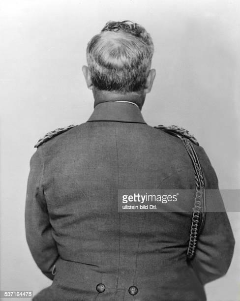 Wilhelm II Deutscher Kaiser 118881918 König von Preussen letzte Aufnahme als Regent Rückansicht 1918