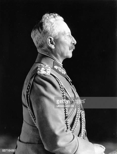 Wilhelm II Deutscher Kaiser 118881918 König von Preussen letzte Aufnahme als Regent 1918