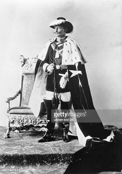 Wilhelm II Deutscher Kaiser 18881918 König von Preussen als Johanniter