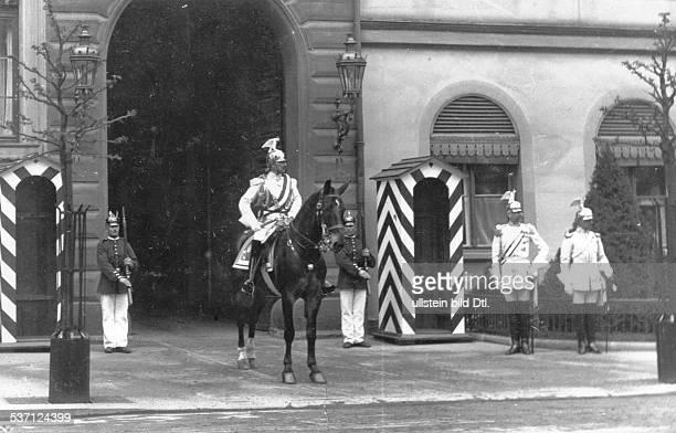 Wilhelm II Deutscher Kaiser 18881918 König von Preussen als Ulan