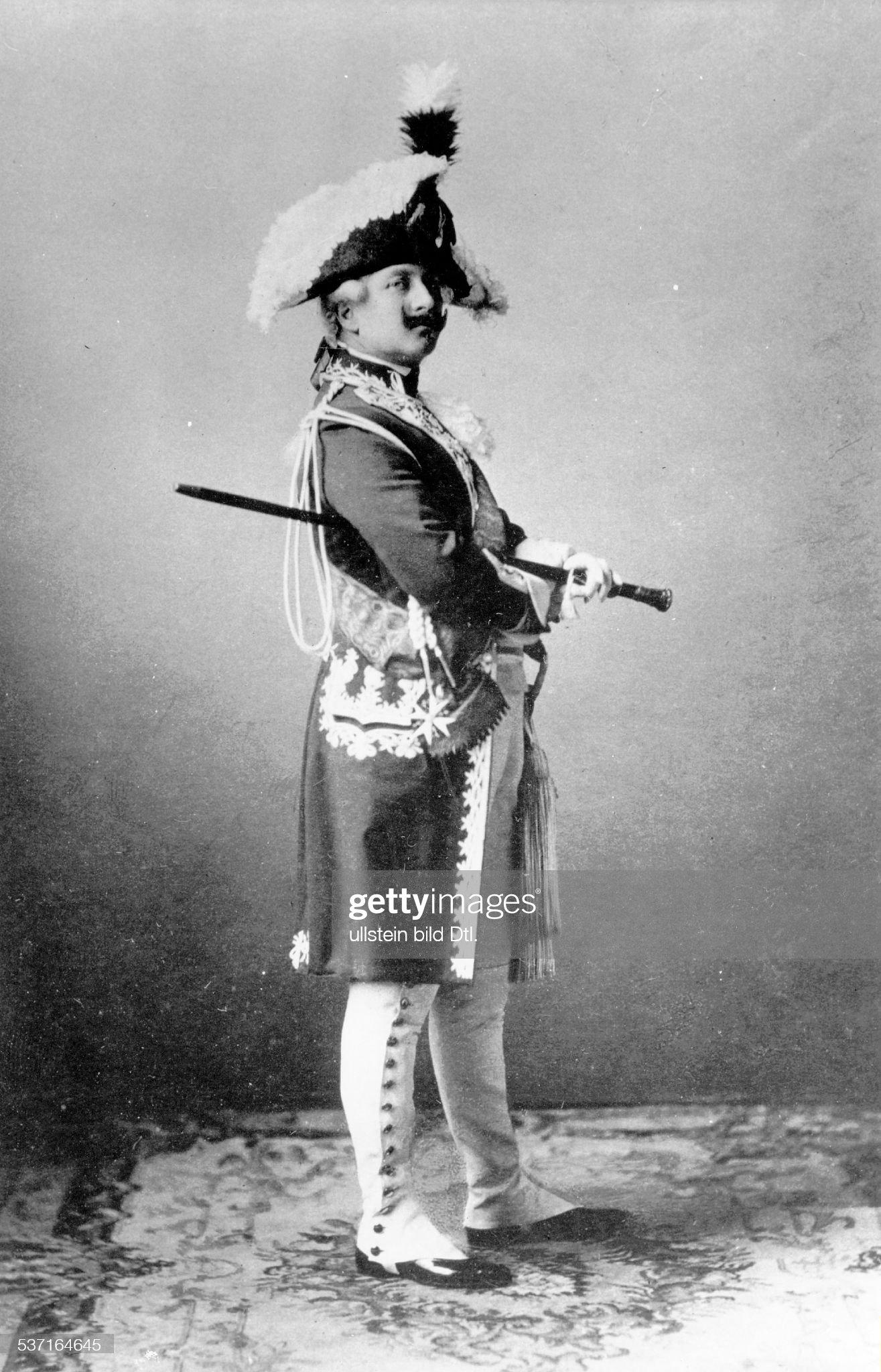 Wilhelm II. - Deutscher Kaiser 1888-1918 : Nachrichtenfoto