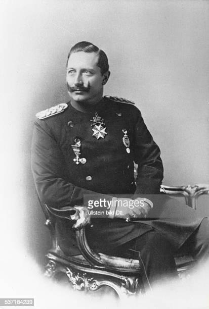 Wilhelm II Deutscher Kaiser 18881918 Koenig von Preussen Portrait undatiert