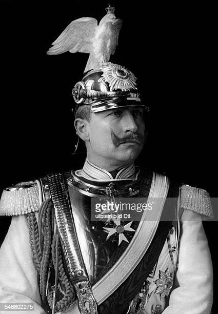Wilhelm II German Emperor King of Prussia *27011859 in the uniform of the ' Garde du Corps ' Photographer Reichard Lindner undated Vintage property...