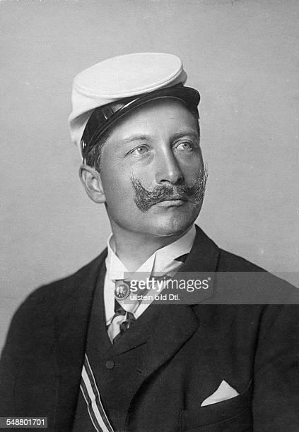 Wilhelm II German Emperor King of Prussia *27011859 wearing the uniform of the student corporation ' Corps Borussia Bonn ' Photographer Reichard...
