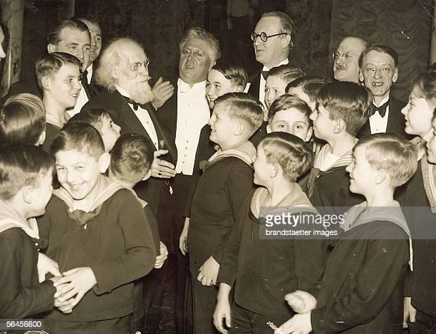 Wilhelm Kienzl's 80th Birthday Vienna Boys Choir at a celebration on the occasion of composer Wilhelm Kienzl's 80th Birthday Photography by Wilhelm...