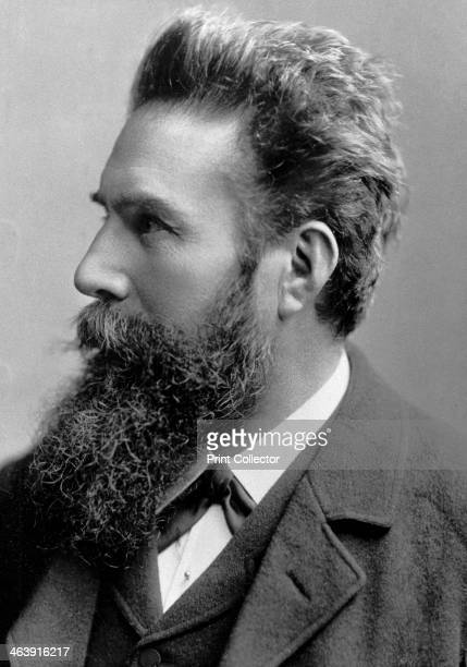 Wilhelm Konrad von Roentgen, German physicist, 1901. The discover of X-rays, Roentgen was awarded the Nobel prize for Physics in 1901. Photograph...