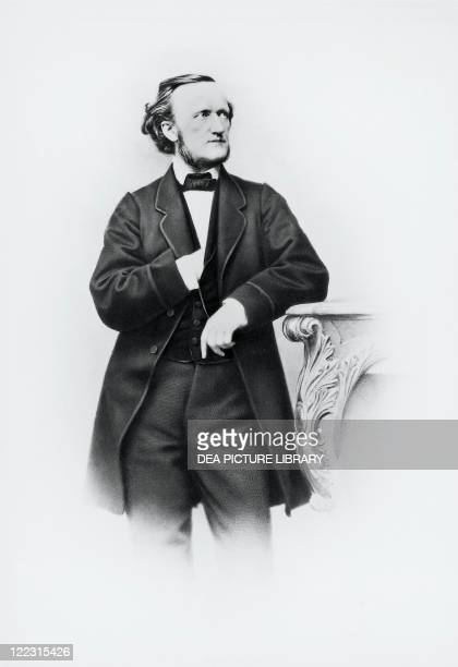 Wilhelm Richard Wagner German composer conductor librettist and essayist Photographic portrait by Joseph Albert Munich November 11 1864