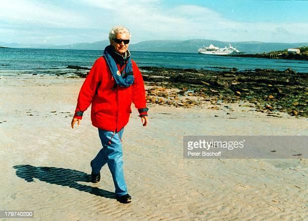 Wilhelm Wieben Kreuzfahrt MSHanseatic Falkland Inseln/AntarktisMeer Schiff Sonnenbrille