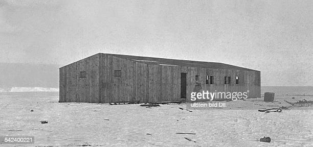 WilhelmFilchnerExpeditionenPolarforscher Ddas Stationshaus der Expedition inder Antarktis 1912