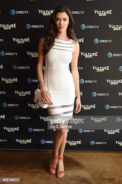 Wilhelmina model AnnaChristina Schwartz attends the Vulture Festival Opening Night Party sponsored by DirecTV at The Top of The Standard on May 20...