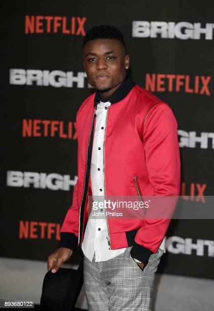 Wilhem Oxybel attends the European Premeire of 'Bright' held at BFI Southbank on December 15 2017 in London England