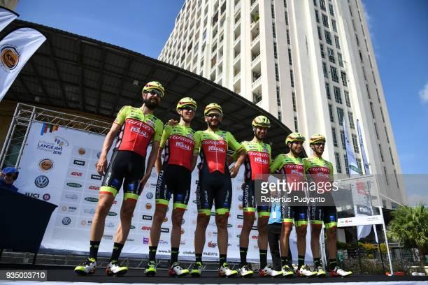Wilier TriestinaSelle Italia pose during Stage 3 of the Le Tour de Langkawi 2018 Kota BharuKuala Terengganu 166 km on March 20 2018 in Langkawi...