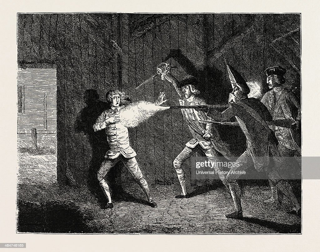 Wilkes And Liberty Riots : News Photo