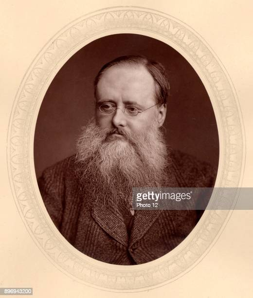 Wilkie Collins English author of sensation novels of mystery and suspense including 'The Woman in White' and 'The Moonstone' From 'Men of Mark' by...