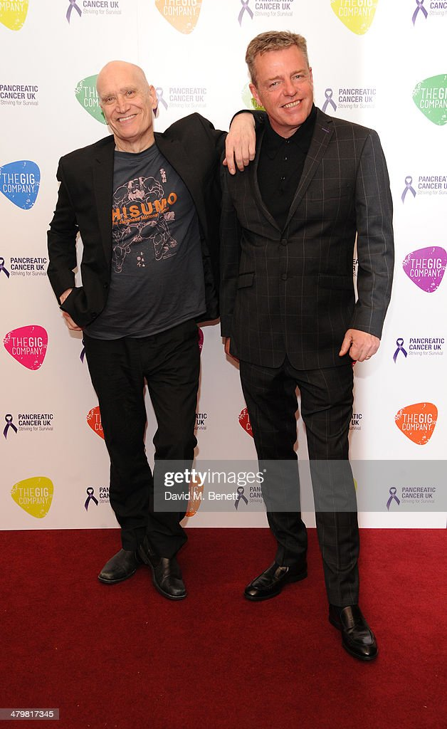 An Evening with Suggs and Friends for Pancreatic Cancer UK : News Photo
