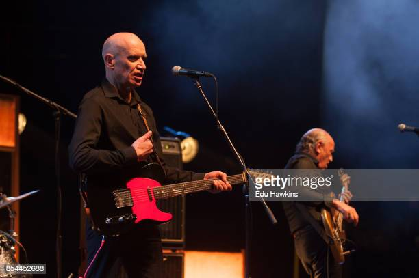 Wilko Johnson performs live on stage at The Royal Albert Hall on September 26 2017 in London England