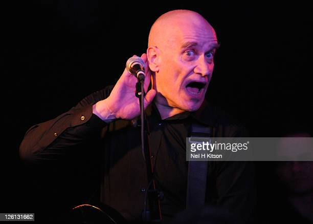 Wilko Johnson performs on stage at O2 Academy on September 22, 2011 in Sheffield, United Kingdom.