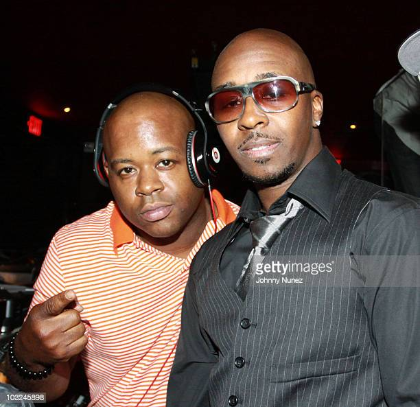 Will and music producer Kwame attend BMI's Know Them Now showcase at the Canal Room on August 4, 2010 in New York City.
