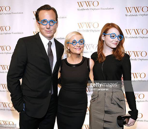 Will Arnett , Amy Poehler and Emma Stone attend the 7th Annual Worldwide Orphans Foundation's Benefit Gala at Cipriani, Wall Street on November 14,...