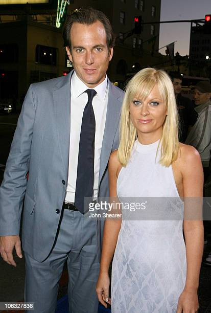 Will Arnett and Amy Poehler during Blades of Glory Los Angeles Premiere Red Carpet at Mann's Chinese Theater in Hollywood California United States