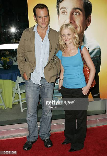 Will Arnett and Amy Poehler during 'The 40YearOld Virgin' Los Angeles Premiere Arrivals at ArcLight Theatre in Los Angeles California United States