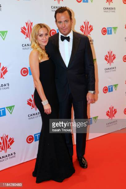 Will Arnett and guest attend the 2019 Canada's Walk Of Fame on November 23 2019 in Toronto Canada at Metro Toronto Convention Centre on November 23...