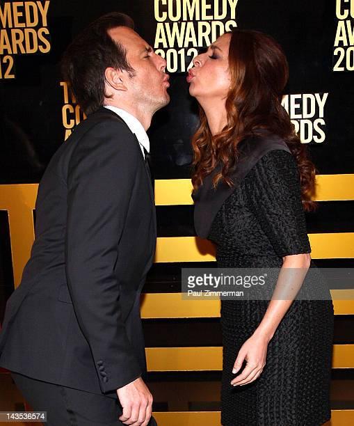 Will Arnett and Maya Rudolph attend The Comedy Awards 2012 at Hammerstein Ballroom on April 28 2012 in New York City