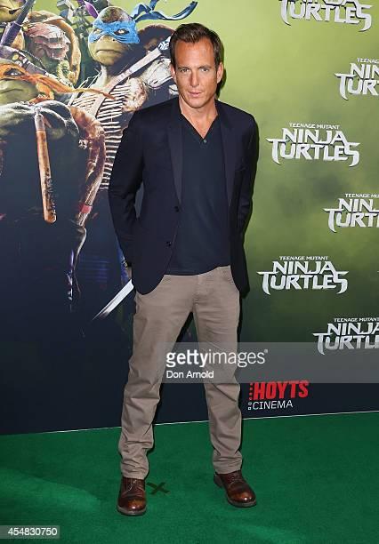 Will Arnett arrives at the Sydney Premiere of Teenage Mutant Ninja Turtles at The Entertainment Quarter on September 7 2014 in Sydney Australia