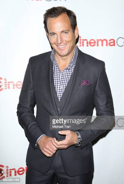Will Arnett attends Paramount Studios presentation Cinemacon 2014 Day 1 opening night held at The Colosseum at Caesars Palace on March 24 2014 in Las...