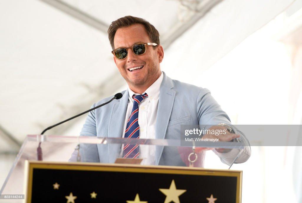 Will Arnett attends The Hollywood Walk of Fame Star Ceremony honoring Jason Bateman on July 26, 2017 in Hollywood, California.
