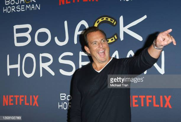 Will Arnett attends the Los Angeles premiere of Netflix's Bojack Horseman Season 6 held at the Egyptian Theatre on January 30 2020 in Hollywood...