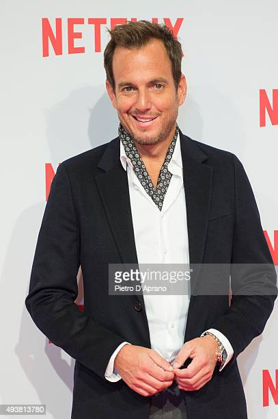 Will Arnett attends the red carpet for the Netflix launch at Palazzo Del Ghiaccio on October 22 2015 in Milan Italy